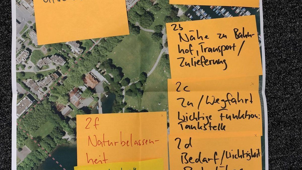 Stadt Luzern: Partizipationsveranstaltung für Testplanung Linkes Seeufer